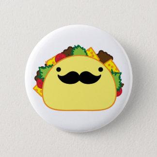 taco 6 cm round badge