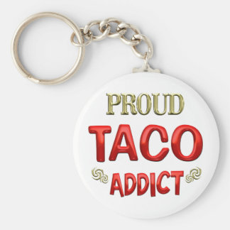 Taco Addict Keychains
