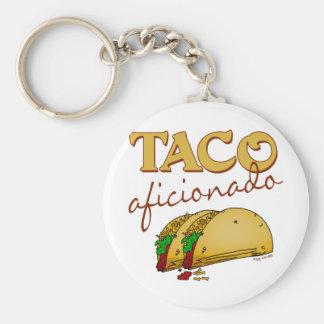 Taco Aficionado Key Chain