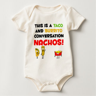 Taco and Burrito Business Baby Bodysuit
