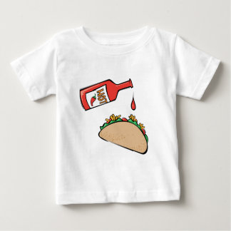 Taco and Hot Sauce Baby T-Shirt