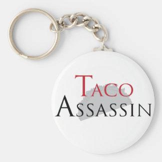 Taco Assassin Key Chain