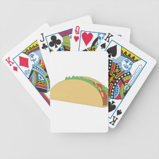 Taco Bicycle Playing Cards