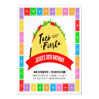 Taco 'Bout A Fiesta Magnetic Card