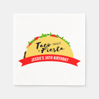 Taco 'Bout A Fiesta Paper Napkins