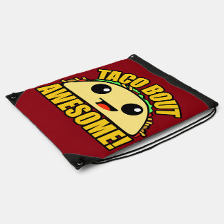 Taco Bout Awesome Drawstring Bag