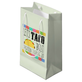 Taco 'Bout Birthday Party Small Gift Bag