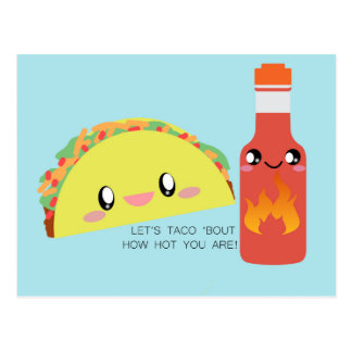 TACO 'bout HOT Postcard