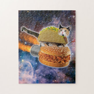 taco cat and rocket hamburger in the universe jigsaw puzzle