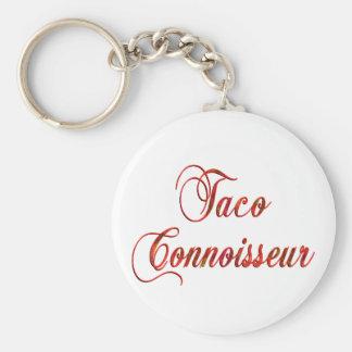 Taco Connoisseur Key Chains
