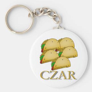 Taco Czar Keychain