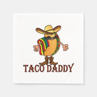 Taco Daddy Cinco de Mayo Party Paper Napkins