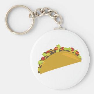 Taco Dinner Keychain