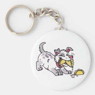 Taco Dog Keychain