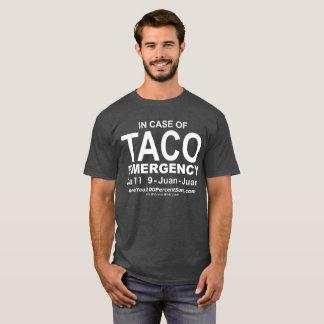 Taco Emergency (for dark bg) T-Shirt