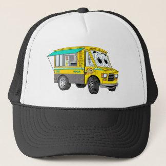 Taco Food Truck Cartoon Trucker Hat