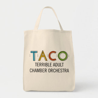 TACO Grocery Tote