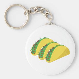 Taco Keychains