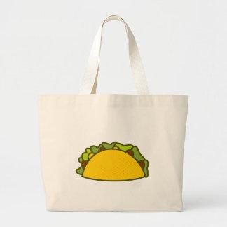 Taco Large Tote Bag