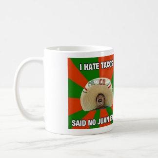 Taco lover!!! coffee mug