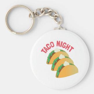 Taco Night Key Chains
