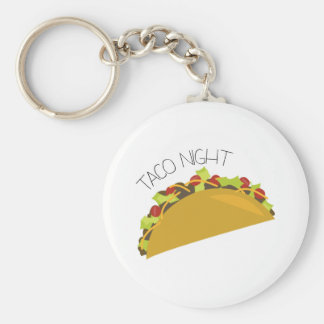 Taco Night Key Chain
