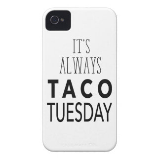 TACO TUESDAY iPhone 4 CASES