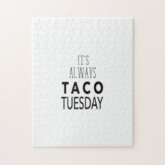TACO TUESDAY JIGSAW PUZZLE