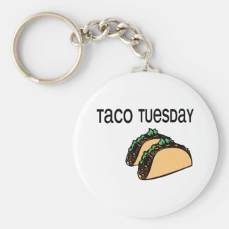 Taco Tuesday Key Ring
