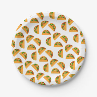 Taco Tuesday Paper Plate