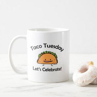 Taco Tuesday shell cheese Mexican food Wednesday Coffee Mug