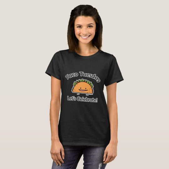 Taco Tuesday shell cheese Mexican food Wednesday T-Shirt