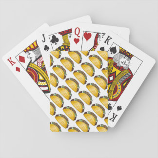 Taco Tuesday Tex Mex Mexican Food Fiesta Foodie Playing Cards