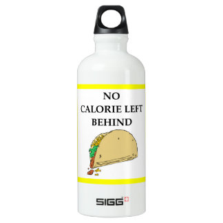 taco water bottle