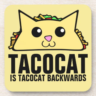 Tacocat Backwards Coaster