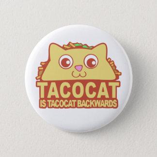 Tacocat Backwards II 6 Cm Round Badge