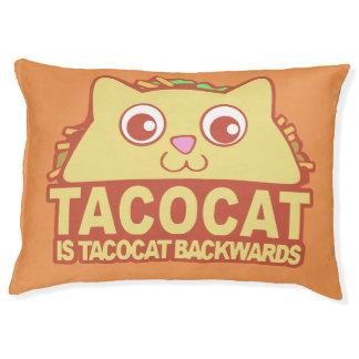 Tacocat Backwards II Pet Bed