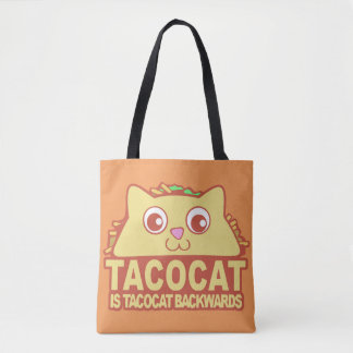 Tacocat Backwards II Tote Bag