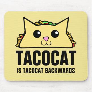 Tacocat Backwards Mouse Pad