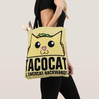Tacocat Backwards Tote Bag