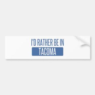 Tacoma Bumper Sticker