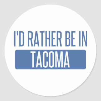Tacoma Classic Round Sticker