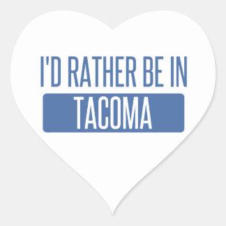 Tacoma Heart Sticker