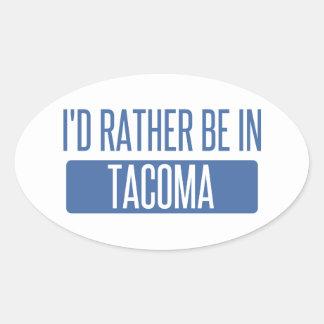 Tacoma Oval Sticker