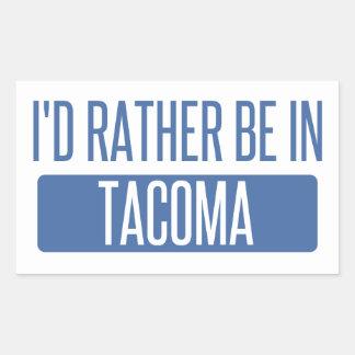 Tacoma Rectangular Sticker