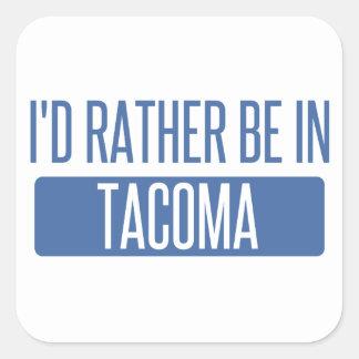 Tacoma Square Sticker