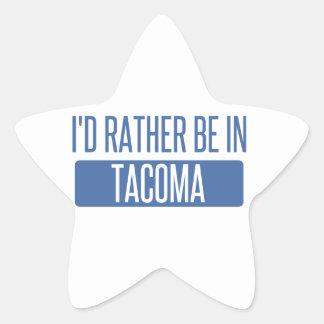 Tacoma Star Sticker