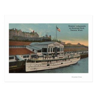 Tacoma, WA - View of Municipal Postcard