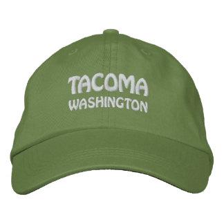 TACOMA, WASHINGTON EMBROIDERED BASEBALL CAP