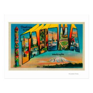 Tacoma, Washington - Large Letter Scenes 2 Postcard